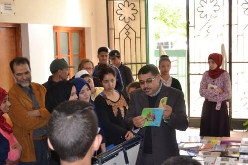 خلال-افتتاح-معرض-الكتاب-المحلي-وصالون-احمد-بوكماخ